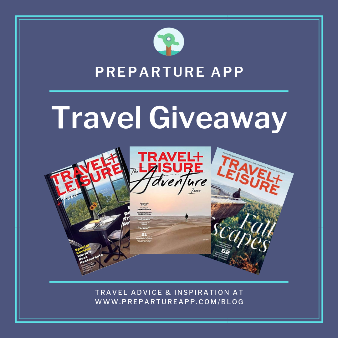 Travel+ Leisure Magazine Giveaway